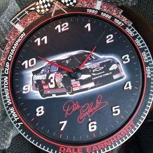 Dale Earndhardt Wall Clock